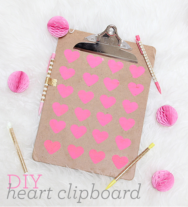 clipboard DIY