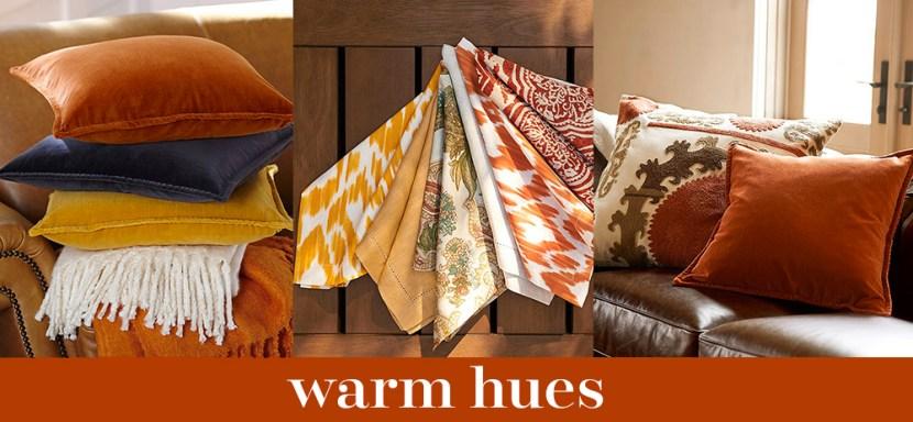 warm hues