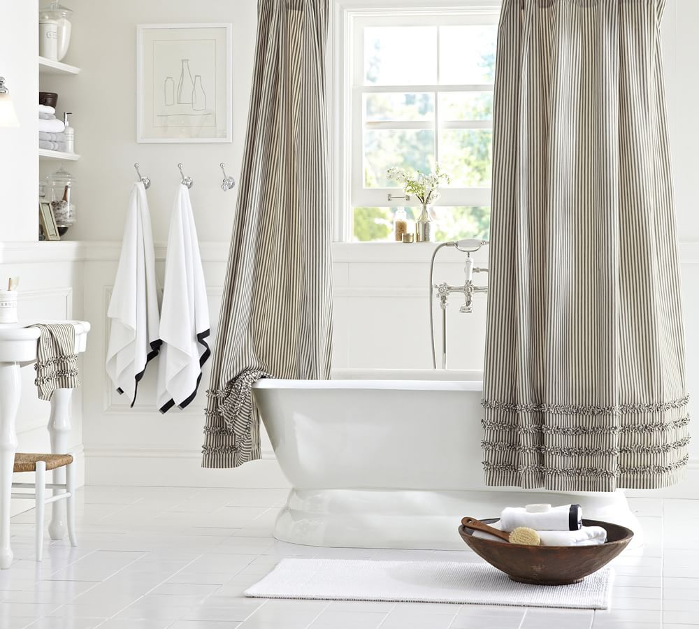 How to organize your home room by room for Bathroom decor pottery barn