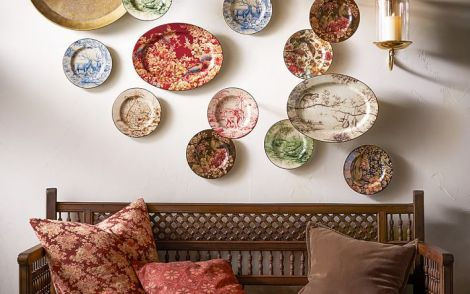 sabyasachi-salad-plate-mixed-set-of-4-floral-bird-1-o
