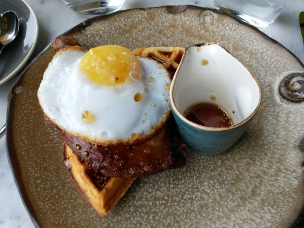 The signature duck and waffle.