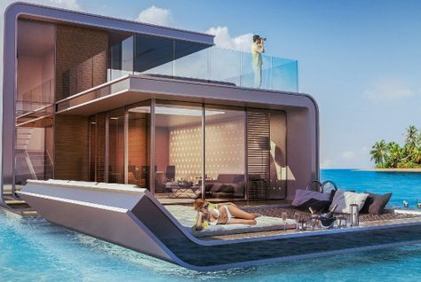 Kleindienst's first 'Floating Seahorse' nears completion in Dubai