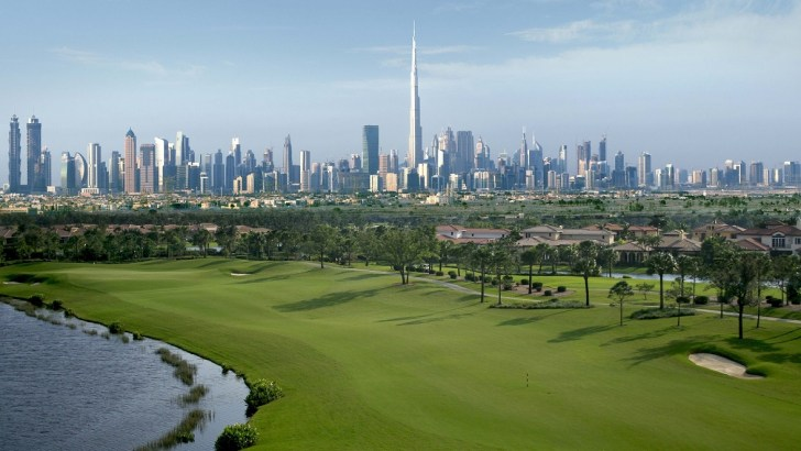 Dubai's new Emirates Hills in the making with metro links to airports
