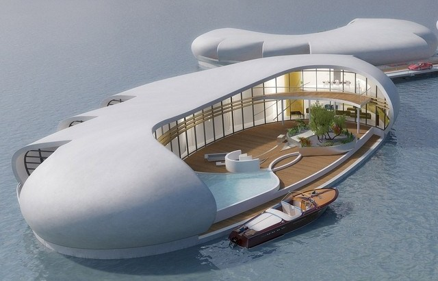Spaceship-style floating homes coming to Dubai