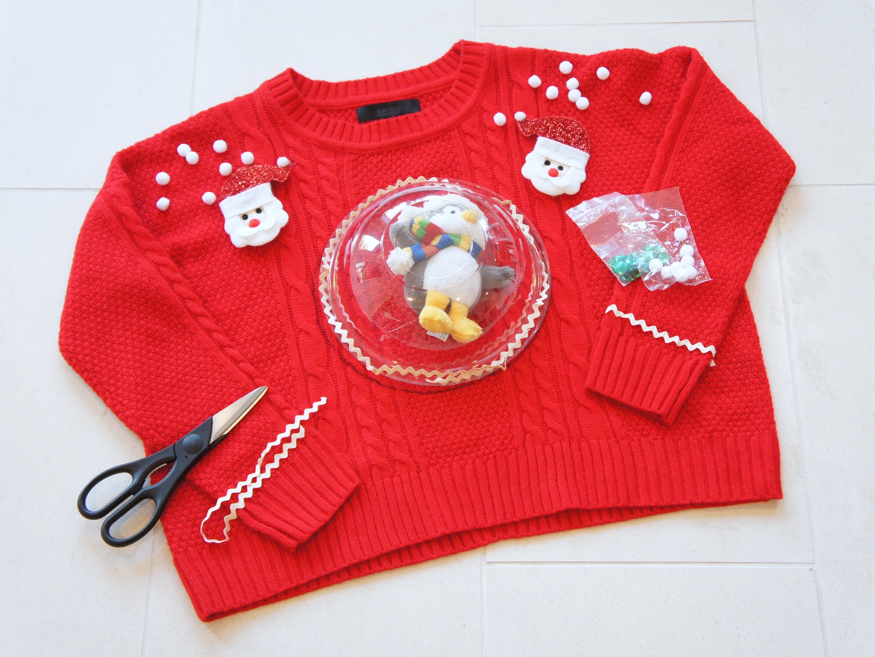 Fullsize Of Diy Ugly Christmas Sweater