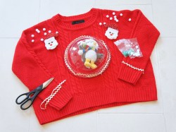Exceptional Baby Diy Ugly Sweater Pregnant Step Diy Ugly Sweater Diy Ugly Sweater Front Center Diy Ugly Sweater