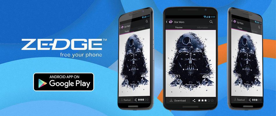 zedge - 15 melhores aplicações android grátis