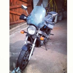 Дорога на мотоцикле из Германии