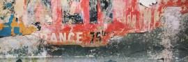 Mur métro affiches rétro