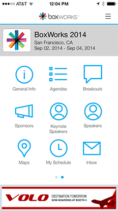 BoxWorks iPhone App
