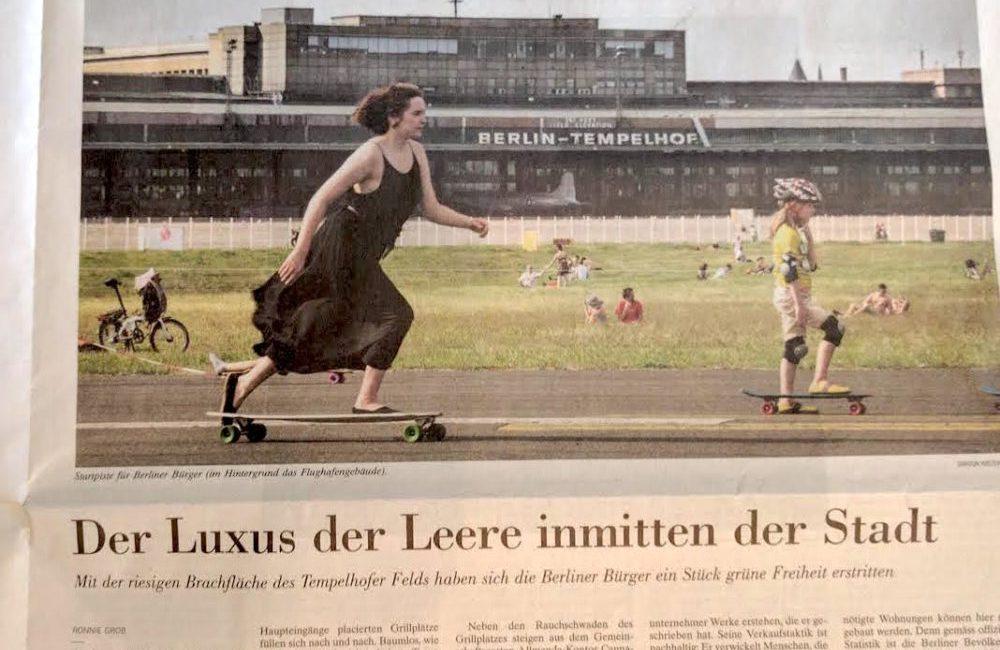 Tempelhofer Feld: Der Luxus der Leere inmitten von Berlin