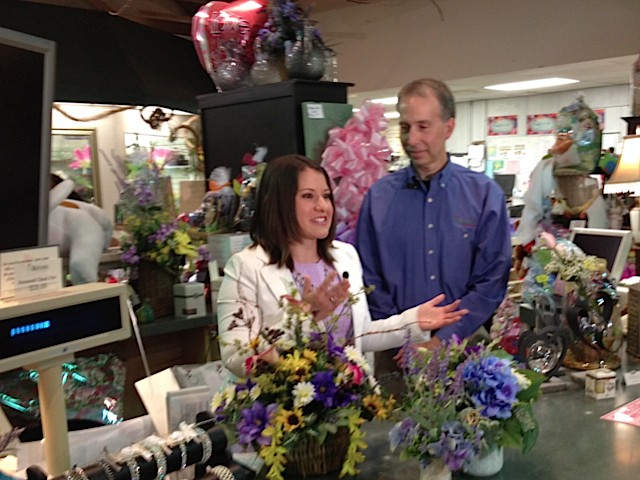 Karissa Shatzer of abc27 is live with Barry Spengler, Royer's vice president of operations, at our Camp Hill store.