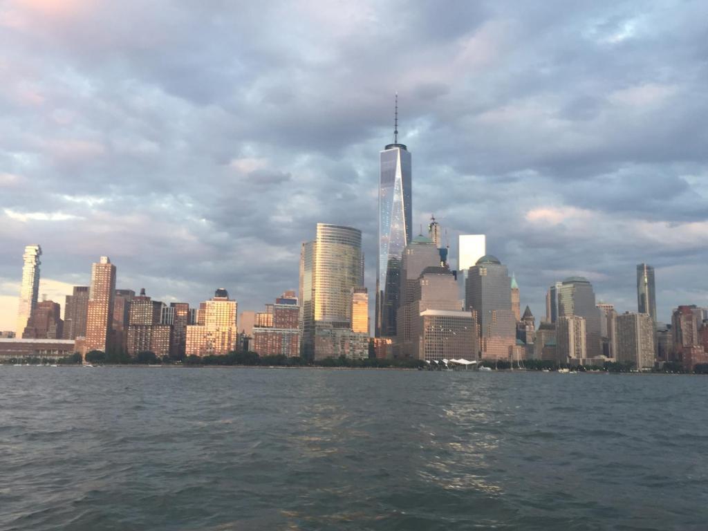 captain matt codner new york skyline
