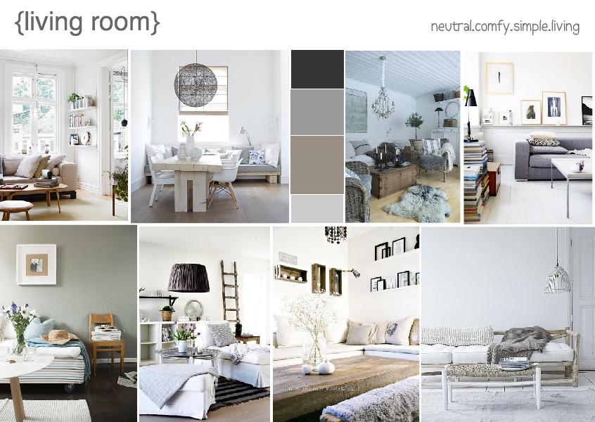 TIPS FOR A MINIMALISTIC LIVING ROOM MOOD BOARD CREATED ON www.sampleboard.com