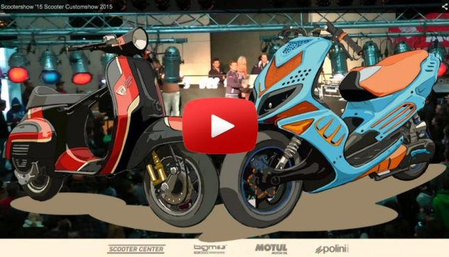 Scooter Customshow 2015 in 4 Wochen