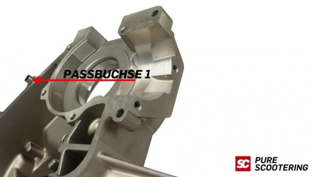 Das neue Pinasco Membran Motorgehäuse für Vespa im Video