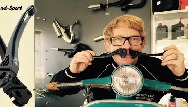 Rollerfahrer Geschenkidee – Vespa Hebel Grand Sport