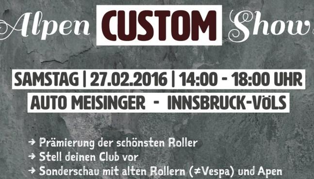 2. Alpen Custom Show in Innsbruck 2016