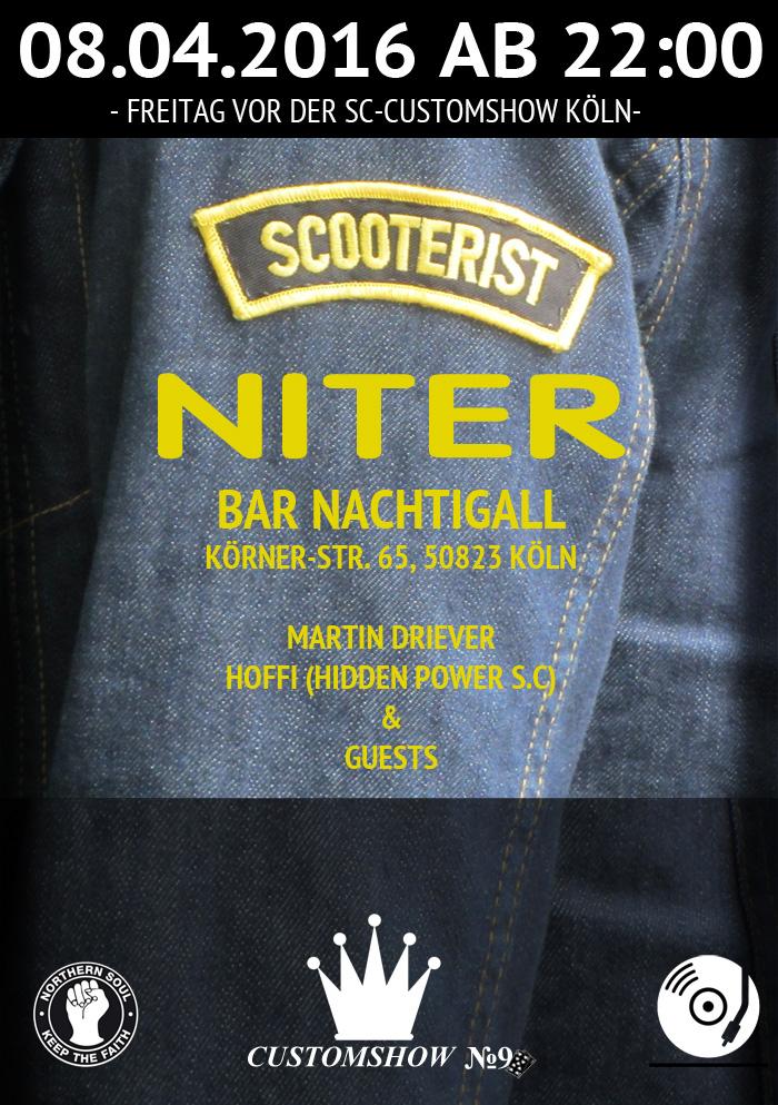 Scooterist Niter