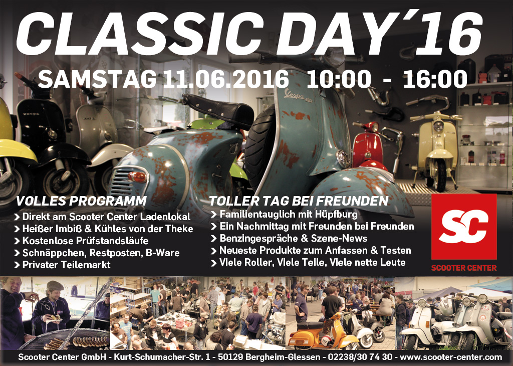 Scooter Center Classic Day 2016