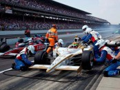 At the 2010 Indy 500, great communication between Alex Lloyd and his crew helped propel the BSA car to a fourth-place finish.