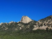 No Philmont landmark is more identifiable than the rugged Tooth of Time. (Photo by Phil Romans on Flickr)