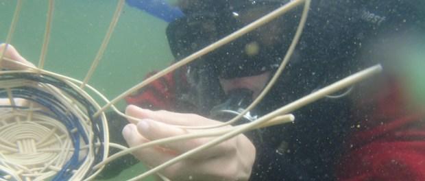 Basket Weaving Houston : Minnesota venturers try underwater basket weaving no