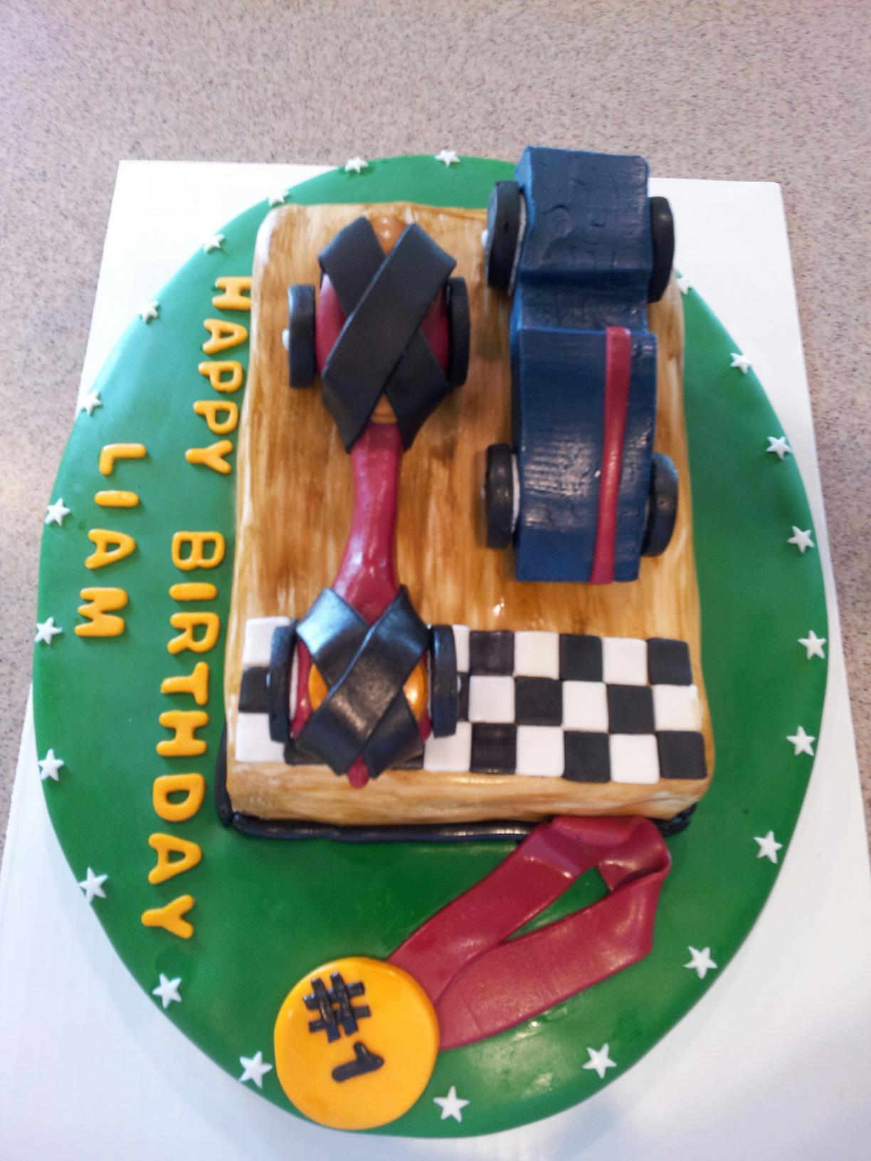 10 Liam's Car Cake (2)