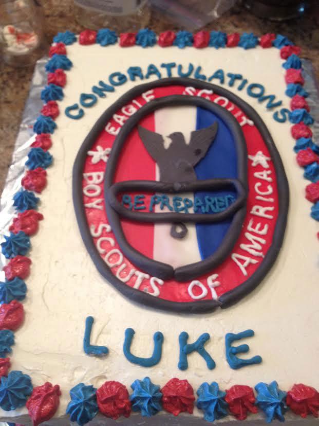 7 Eagle Scout Congratulations Cake