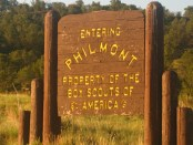 philmont-sign