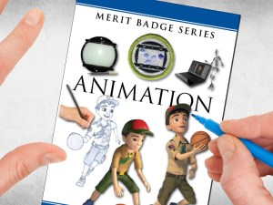 Animation-merit-badge