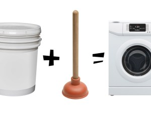 Plunger-washing-machine