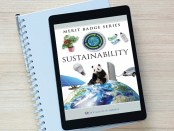 Sustainability-merit-badge-on-iPad
