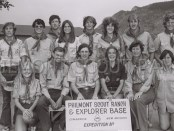 1976 Philmont group photo