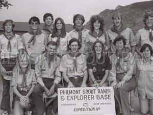 1976 Philmont group photo