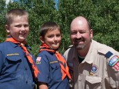 Cubmaster and Scouts