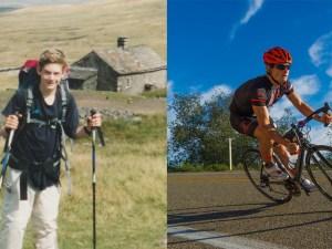 Greg Billington hiking and biking