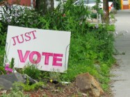 just vote sign