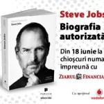 Biografia autorizata a lui Steve Jobs, va aparea la chioscurile de ziare din 18 iunie