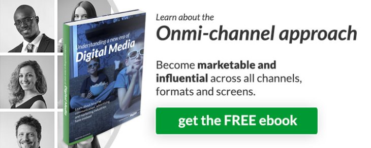 Learn about the Onmi-channel approach: become marketable and influential across all channels, formats and screens