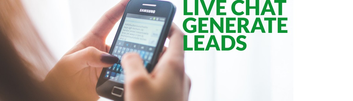 5 reasons why having a live chat helps generate more leads