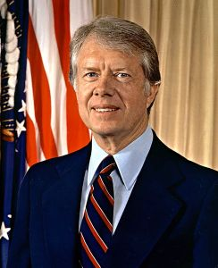 Carter reactivated Selective Service registration in response to the Soviet invasion of Afghanistan.