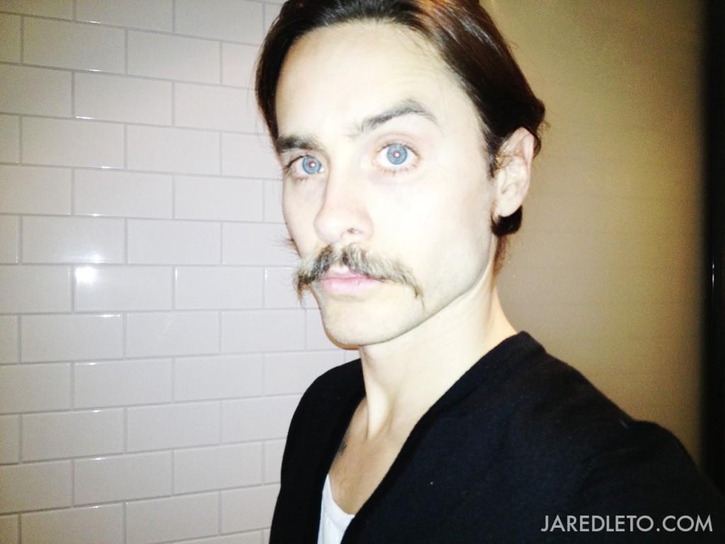 jared leto moustache