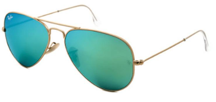 Ray-Ban Aviator Flash Lenses Sunglasses