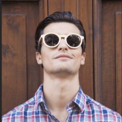 wooden eyewear