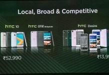 HTC refreshes its portfolio in India