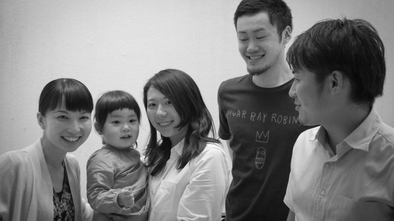(左から)土田、たまさん、宮坂、本間、湯本