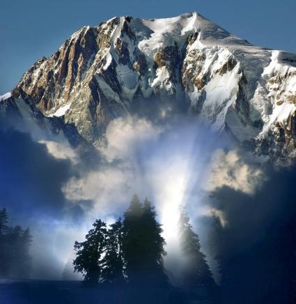 Mont Blanc, Brenva, Italia