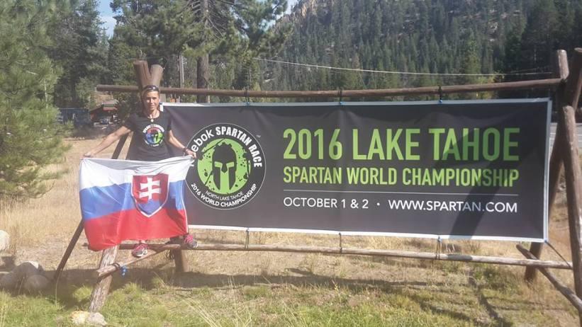 Marcela Bartková na majstrovstvách sveta v Spartan Race v USA