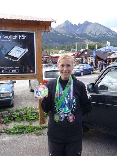 """Marcela Bartková a krásne 10. miesto medzi ženami v """"open"""" vlne na Majstrovstvách Európy Spartan Race Beast v Tatranskej Lomnici"""